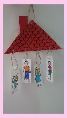 Family Theme Craft Idea Family Theme Craft Idea Craft Ideas Kindergarten Die R . Preschool Family Theme, Family Crafts, Kindergarten Activities, Family Activities, Toddler Activities, Preschool Activities, Toddler Crafts, Crafts For Kids, Toddler Daycare
