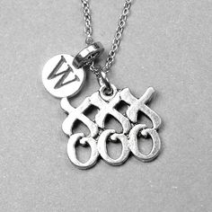 Hugs and Kisses Necklace XOXO Necklace by chrysdesignsjewelry, $18.00