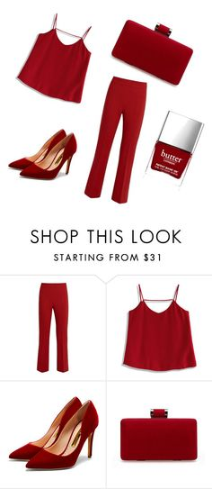 """""""One color"""" by lgosudareva on Polyvore featuring MaxMara, Chicwish, Rupert Sanderson and Butter London"""