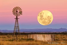 Classic Karoo farm scene by Rob Southey - South Africa Farm Windmill, Windmill Decor, Old Windmills, Farm Stay, Country Scenes, All Nature, Le Far West, Water Tower, Old Barns