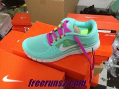 sports shoes e73d9 90586 Nike Free Run 3 Womens Tropical Twist Reflect Silver Pure Platinum Rose  Lace Shoes Free Running