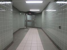 Sterile Tile Corridor | Sci-Fi Facility Hall