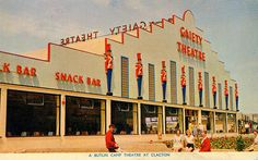 Promotional postcard for Butlins in Clacton - 7 London History, British History, Butlins Holidays, 1960s Britain, British Holidays, Seaside Holidays, Pet Resort, Holiday Day, Park Playground