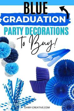 Graduation Party Desserts, Grad Party Decorations, Kids Party Themes, Grad Parties, Party Ideas, Diy Party, Best Part Of Me, Creative, Fun