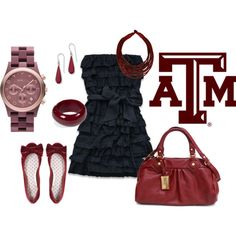 Aggie Gameday (my first polyvore board!)