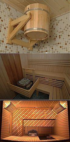 отделка бани своими руками | Современный дом