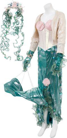 "A Cher Mermaid Costume from ""Mermaids."""