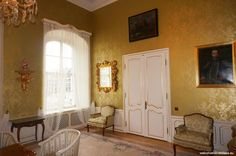 Have you ever been inside of the palace seating the office of the Slovak President? Use a chance of the open door at the presidential palace Palace, Oversized Mirror, Doors, Furniture, Home Decor, Self, Decoration Home, Room Decor, Palaces