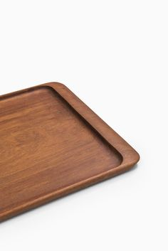Johnny Mattsson tray in teak by Upsala slöjd at Studio Schalling