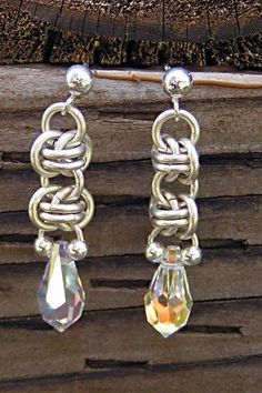 1000+ images about chain mail earrings on Pinterest   Chainmaille ...