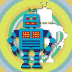Robot Puzzle for Toddlers (Kindle Fire Edition)