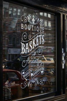 handwritten letters shop front - Szukaj w Google