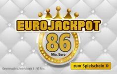 Rund 86 Millionen Euro liegen bei der Ziehung am Freitag im Eurojackpot.  An Ostern könnten Träume...,Das wäre ein richtig dickes Osterei für glückliche Gewinner: in Nordrhein-Westfalen - Erftstadt
