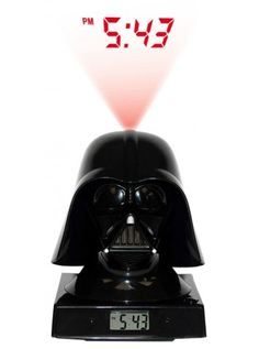HOMEWARES : Star Wars | Darth Vader 3D Projector ALARM CLOCK
