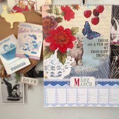 My GypsyGypsy Calendar www.libbymcmullin.co.uk