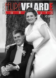 la portada de nuestro edición digital , felicitamos a Beatriz y alfonso