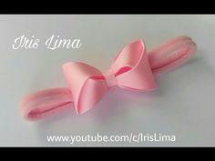 Como fazer Laço de Gorgurão - Laço Mil Faces Fofurinha DIY - PAP - TUTORIAL - YouTube