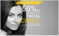 Hasta el 15 de abril, 50% de descuento en medicina estética facial. ABRIL EN DORSIA