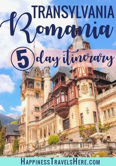 Romania with kids. A Itinerary through Dracula's Transylvania. Read on to plan the perfect itinerary through Romania with kids. If you only have time for a short family break then focus your Romania itinerary on Transylvania. Destination Voyage, European Destination, European Travel, European Vacation, Europe Travel Guide, Travel Guides, Travel Destinations, Budget Travel, Travel Plan