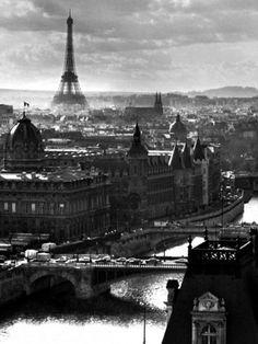 Paris Skyline.