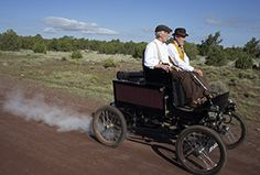 The journey of a steamcar that's over a hundred years old