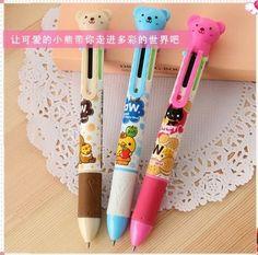 mutli-color ballpoint pen
