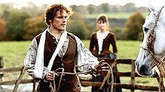 Jamie Fraser, the horse whisperer