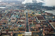 Located in Siberia, Norilsk is the world's northernmost city with a population of more than 100,000, and it's not just one of the coldest cities of the world—it's also one of the filthiest. Nickel ore smelting has transformed the landscape into one of the ten most polluted places on Earth.