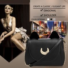 Cosplay PU Leather Women Shoulder Bags