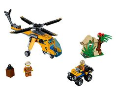 Jungle Cargo Helicopter | LEGO Shop