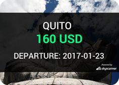 Flight from New York to Quito by jetBlue #travel #ticket #flight #deals   BOOK NOW >>>