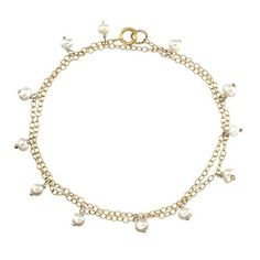 Goldfilled Bracelet with Pearls - catalog