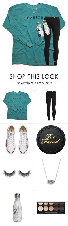 """and if the night is burning i will cover my eyes"" by lindsaygreys ❤ liked on Polyvore featuring adidas, Converse, Kendra Scott, S'well, Witchery and Ralph Lauren"