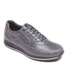 Dark Shadow Mudguard Leather Sneaker by Rockport #zulily #zulilyfinds