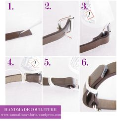 DIY-A fake leather bracelet _Handmade Cou[l]ture_2
