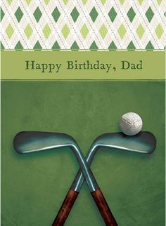 father's day golf ecard
