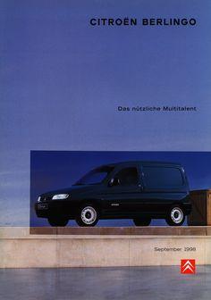 https://flic.kr/p/G7zkwD   Citroen Berlingo - Das nützliche Multitalent; 1998_1   front cover car brochure by worldtravellib World Travel library