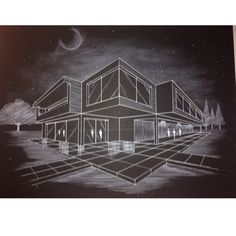 #arquitectura #perspectiva #blanco&negro #Enriquez2015
