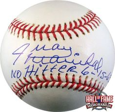Juan Marichal Autographed/Hand Signed Rawlings Official MLB Baseball with No Hitter 6-15-63 Inscript . $79.99