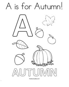 423 Free, Printable Autumn and Fall Coloring Pages: Twisty Noodle's Fall Coloring Pages