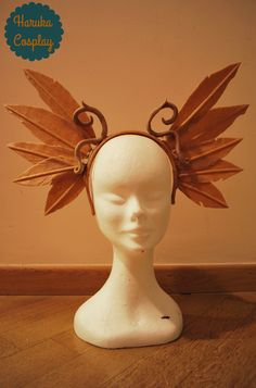 W.i.p. of my feathers's crown #worbla #harukacosplay #worblacreations #art #cool #ideas