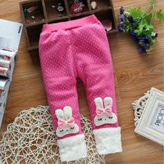 2d68ec7d927 BibiCola 2017 girl s warm pants baby casual winter pants toddler Thicken  warm Leggings trousers for girl kids girls pants sports