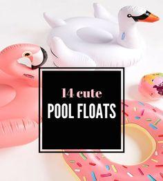 Emiily: 14 Cute Pool Floats