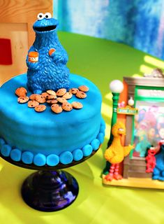Funky & FUN fiesta de cumpleaños de Sesame Street
