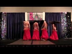 Belly Dance Soulfire | Drum Solo Choreography | 2009 Bellydance Nationals Troupe Champions
