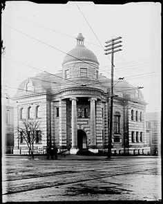 Carnegie Library 1908, Main and Hastings, Vancouver, by Phillip Timms