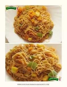 Veggie Recipes, Vegetarian Recipes, Healthy Recipes, Fideo Recipe, Cocina Light, How To Cook Pasta, Wok, Carne, Clean Eating