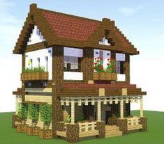Minecraft World, Minecraft Server, Minecraft House Plans, Minecraft Houses Survival, Easy Minecraft Houses, Minecraft House Tutorials, Minecraft Houses Blueprints, Minecraft Room, Minecraft House Designs