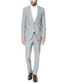 16 mejores imágenes de traje gris claro  2a4148203f42