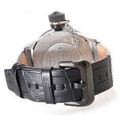 Invicta Russian diver nautilus caseback and strap